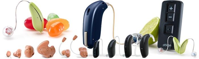 シンコムの取り扱い補聴器